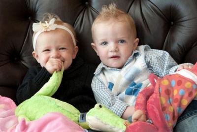 Babies love Zoobies Blankie Babies and Blanket Pets