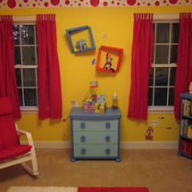 Baby boy nursery ideas pictures for Cat in the hat bedroom ideas