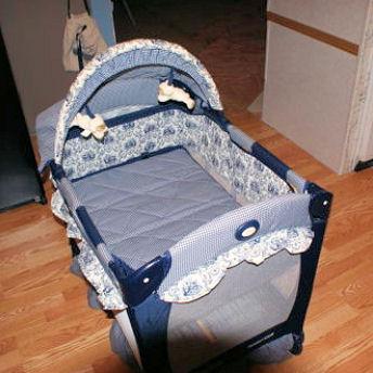 Graco Lite Baby Travel Camping Crib