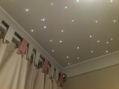Star Lights For A Baby Girl Nursery Ceiling That Twinkle