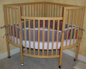 Corner Baby Cribs Are Great Space Savers For Small Nurseries