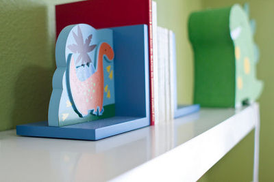 Baby Boy Dinosaur Nursery Bookends