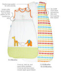 grobag baby sleeping bags chart