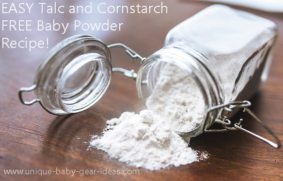 Make Your Own No Talc Baby Powder