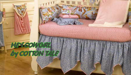 vintage retro cowgirl baby nursery crib bedding sets nursery theme