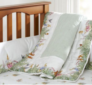 peter rabbit beatrix potter baby nursery crib bedding ensemble pottery barn kids