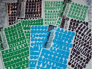 alphabet stickers decals