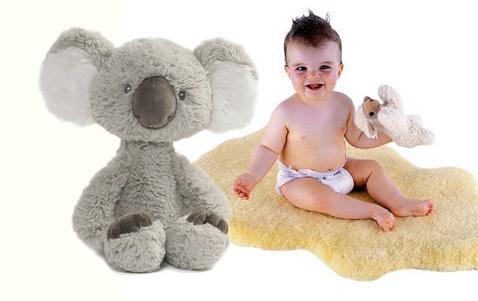 Aussie australian australia large plus koala bear baby nursery room decorating ideas decor