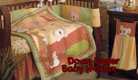 kangaroo koala bear australia theme baby crib nursery bedding sets