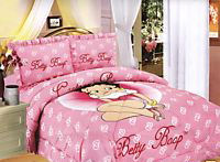 twin betty boop bedding bed in a bag comforter set