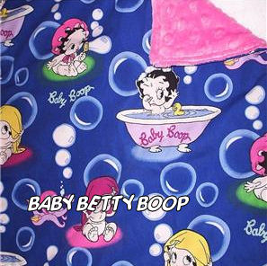 baby betty boop bedding crib nursery blanket