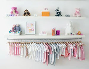 Unique baby nursery closet organizer organization tips ideas