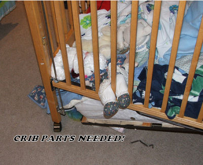 Babies Cribs Sale on Baby Crib Replacement Parts By Brbel