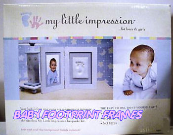 Baby Footprint Frame Baby Hand And Footprint Picture Frame