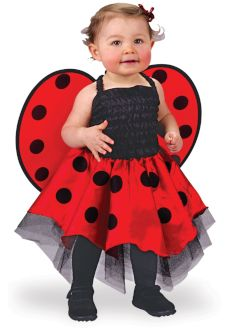 baby toddler ladybug halloween costume dress outfit