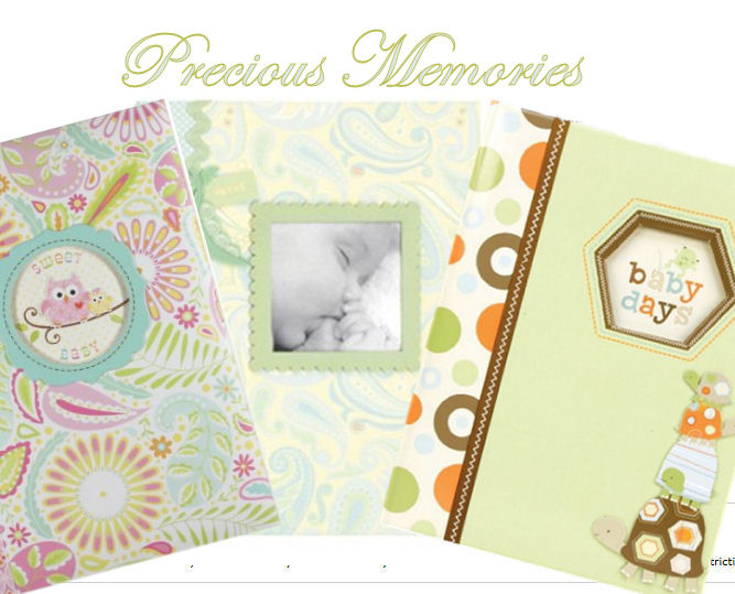 Baby memory book ideas