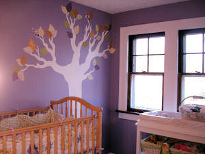 baby owl nursery theme design ideas