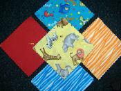precut flannel baby quilt kits