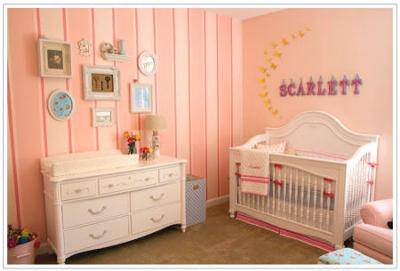 Baby Scarlett's Vintage Teacup Nursery Theme in Pink and Blue