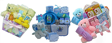 Baby shower gift basket ideas for boys girls unisex