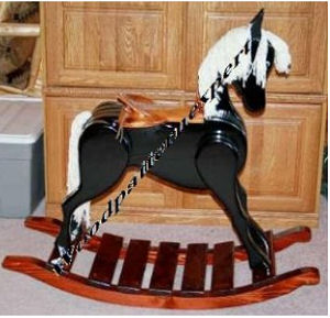 rocking horse saddle plans