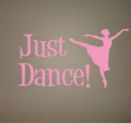 ballerina wall nursery baby decals stickers appliques mural