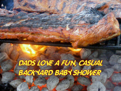 fun casual baby shower ideas barbeque