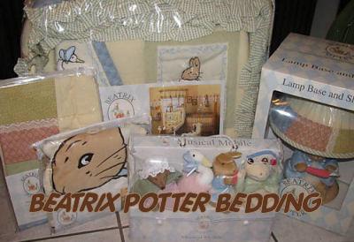Beatrix Potter Baby Bedding