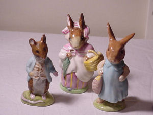 Beatrix Potter figurines Peter Rabbit figurines collectibles