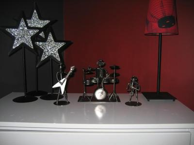 Bentley's Rockstar Nursery Decor