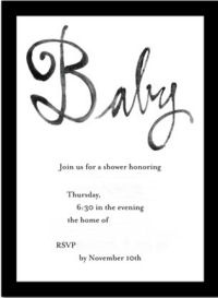 black and white formal tuxedo baby shower neutral baby shower invites cards invitations announcements