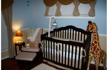 Blue And Brown Nursery Ideas