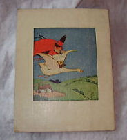 antique mother goose nursery rhyme page