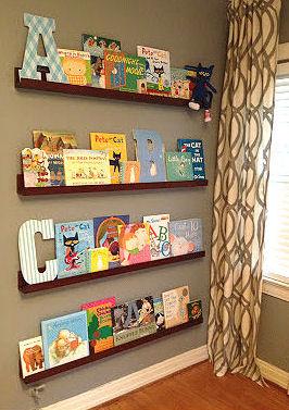 Nursery Bookshelf Ideas Bookcase Decorating Ideas For The