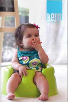 Win your very own FREE Bumbo Baby Seat with Tray and Cover in Unique Baby Gear Ideas Giveaway!