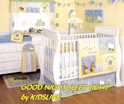 Baby Bedroom Items on Theme Crib Mobile Bedding Set Rabbit Print Fabric Nursery Curtains