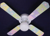 girls butterfly gossamer wings kids nursery baby ceiling fan