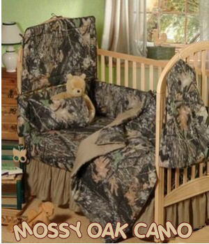 mossy oak baby camouflage camo boys crib bedding set