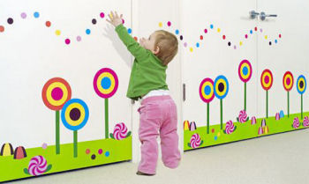 candy wall decorations decor stickers decals vinyl