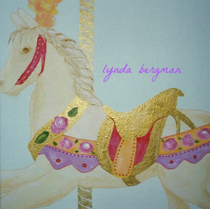 Detailed horse wall painting pattern