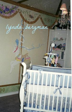 Carousel Horse Nursery Theme Ideas for Baby Boys and Girls