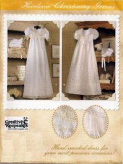 baby christening gown sewing pattern