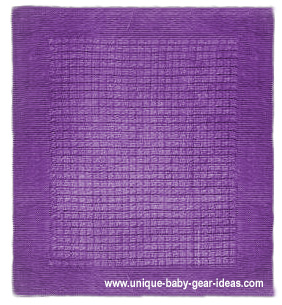 Free super very easy baby blanket knitting pattern instructions.  Stroller blanket crib blanket