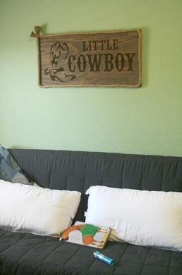 Our Little Baby Cowboy's Room