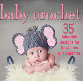 Crocheted Beauty Baby Set - Crochet Pattern for Sweater, Booties