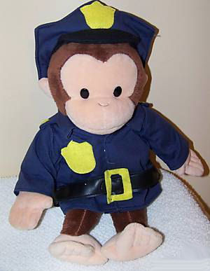 Curious George Plush Toys stuffed dolls