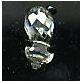 swarovski crystal baby panda mint in box collectible figurine