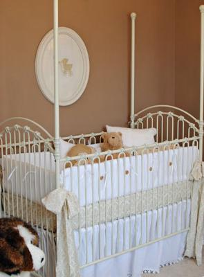 Budget friendly baby nursery theme room for a baby with beautiful decorations and all of the necessities at a reduced cost