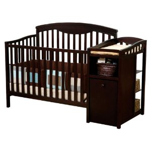 DELTA ESPRESSO CRIB CHANGING TABLE  and CRIB