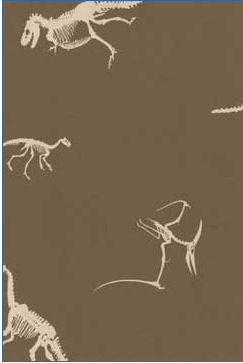 prehistoric dinosaur wallpaper chocolate brown